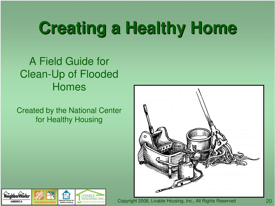 Flooded Homes Created by the