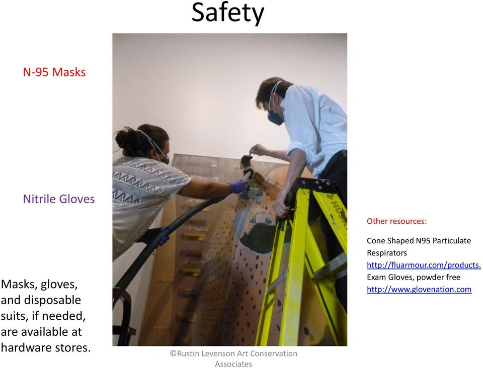 Other resources: Cone Shaped N95 Particulate Respirators