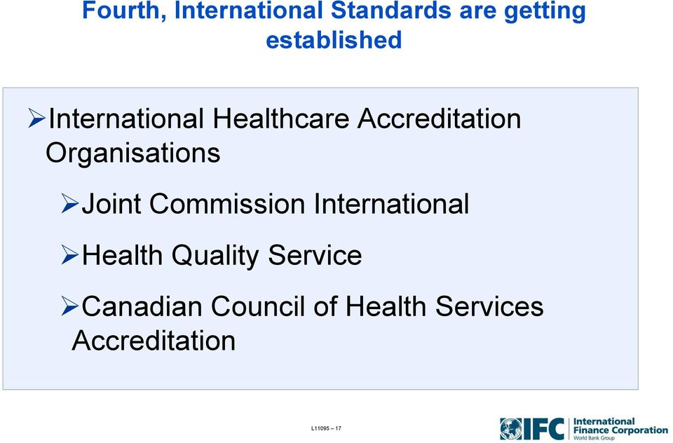 Joint Commission International Health Quality Service