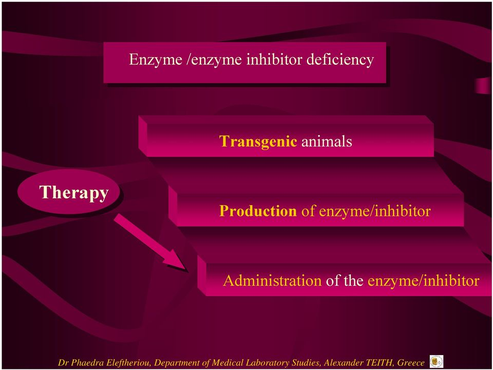 Therapy Production of