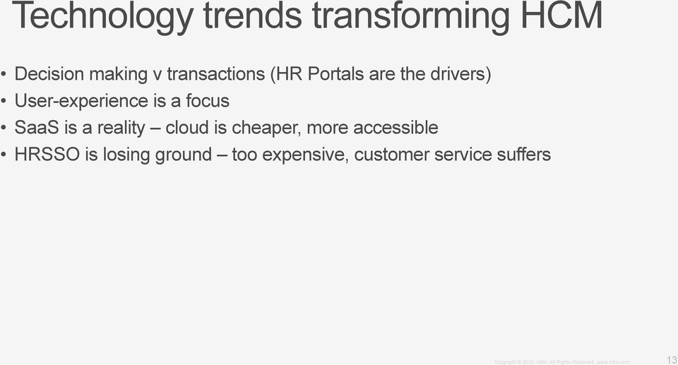 is a focus SaaS is a reality cloud is cheaper, more