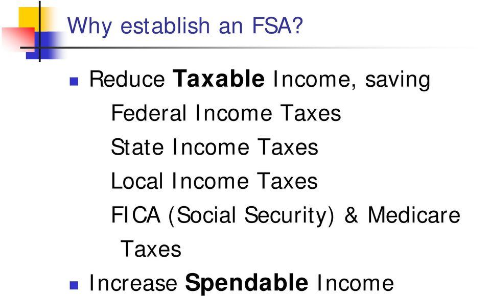 Income Taxes State Income Taxes Local