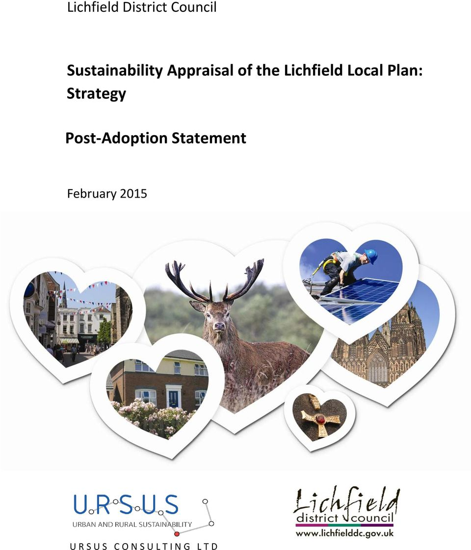 Lichfield Local Plan: Strategy Post