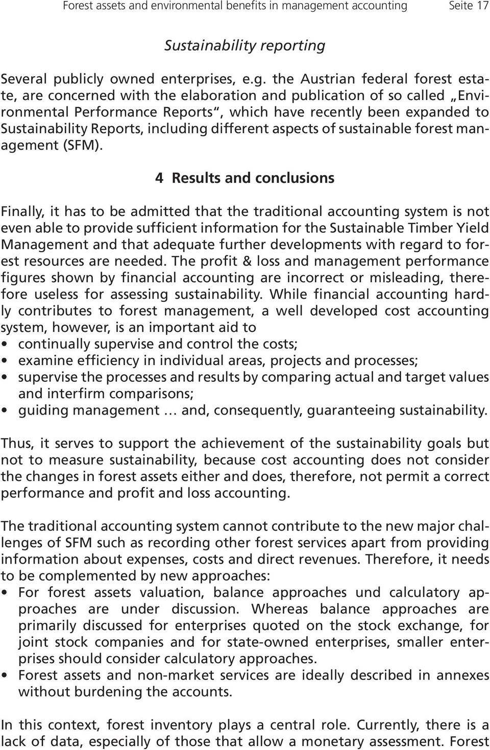 Seite 17 Sustainability reporting