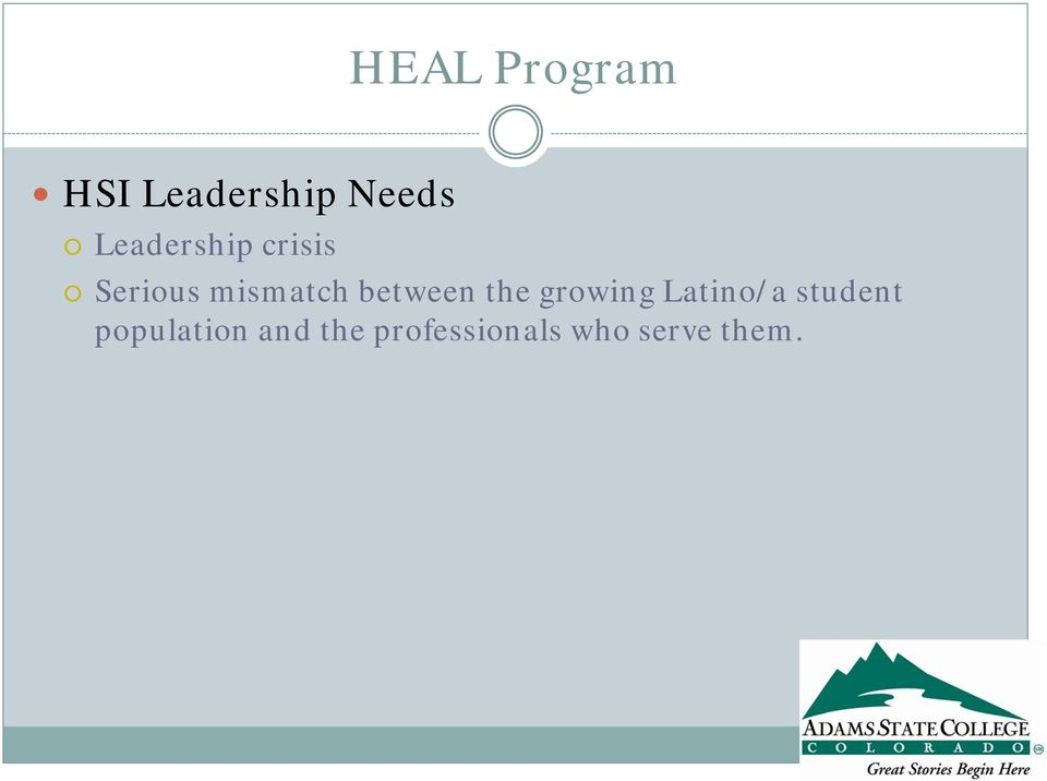 growing Latino/a student population