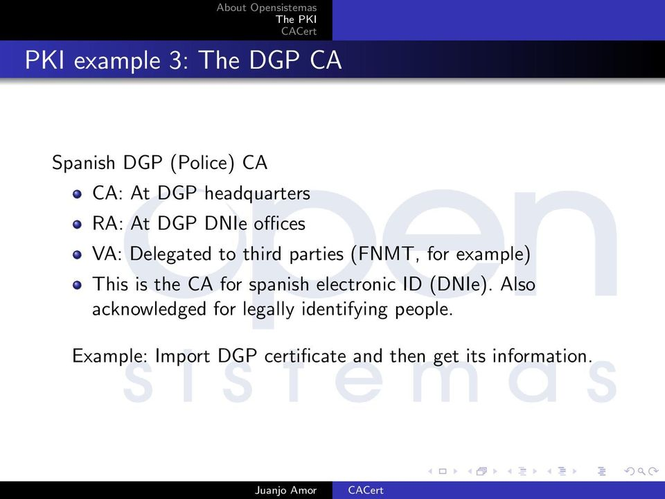is the CA for spanish electronic ID (DNIe).