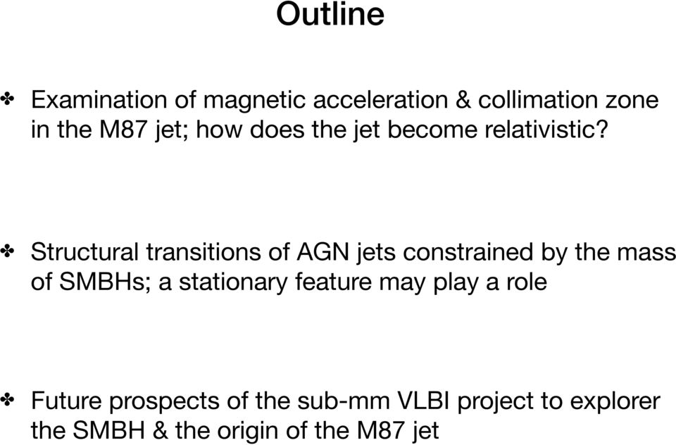 Structural transitions of AGN jets constrained by the mass of SMBHs; a