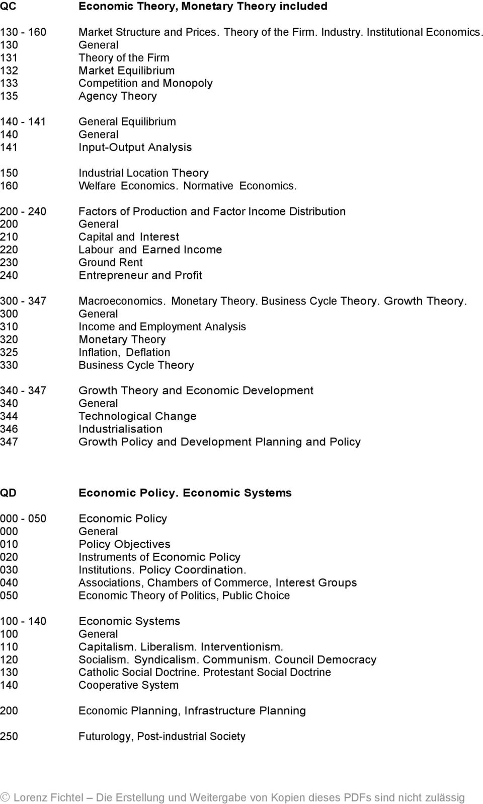Theory 160 Welfare Economics. Normative Economics.
