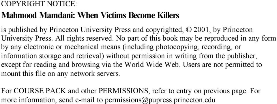 No part of this book may be reproduced in any form by any electronic or mechanical means (including photocopying, recording, or information storage and retrieval)
