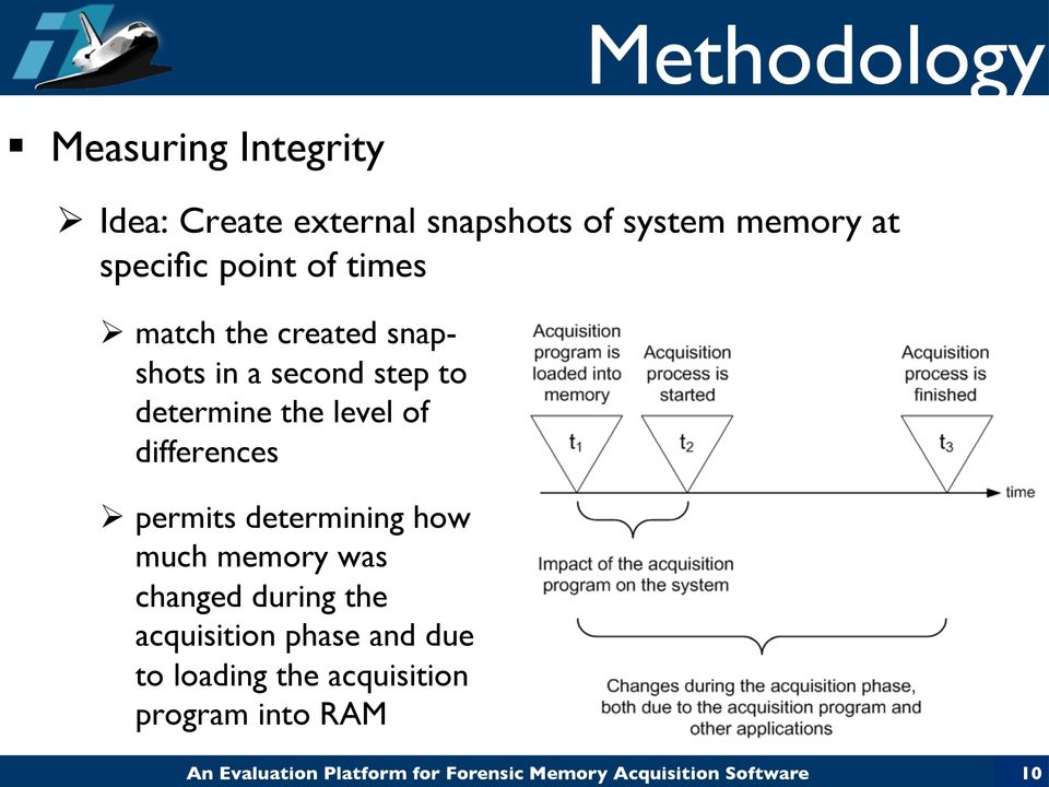 to determine the level of differences Ø permits determining how much memory was