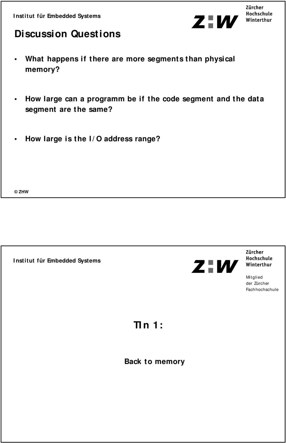 How large can a programm be if the code segment and the data