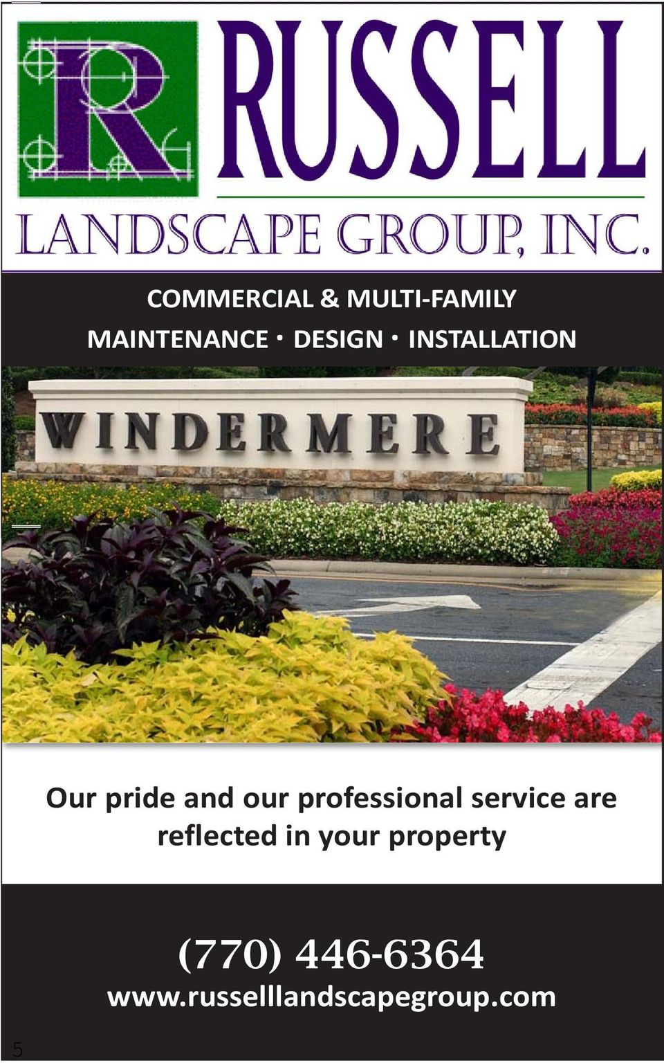 pride and our professional service are reflected