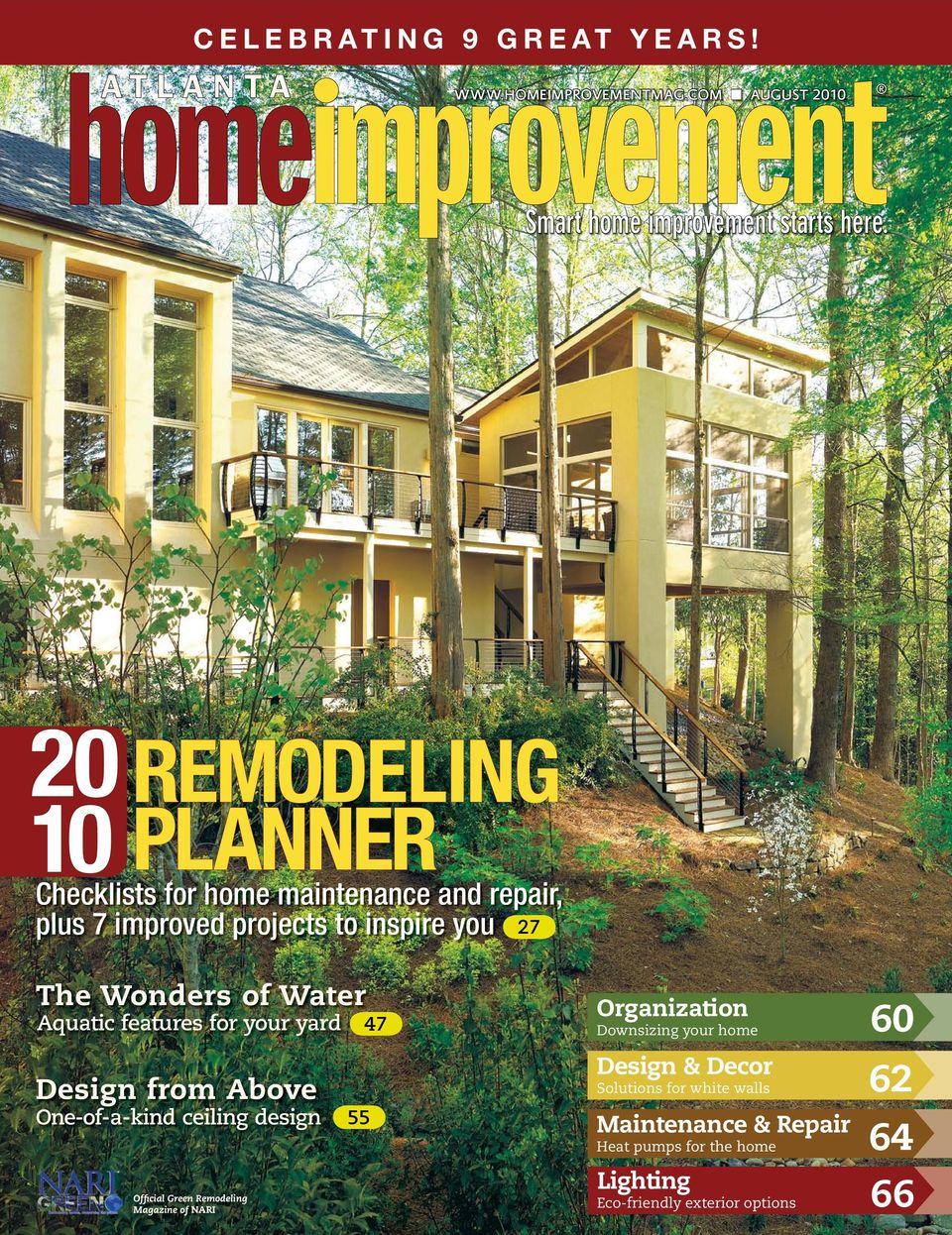 Aquatic features for your yard 47 Design from Above One-of-a-kind ceiling design Official Green Remodeling Magazine of NARI 55