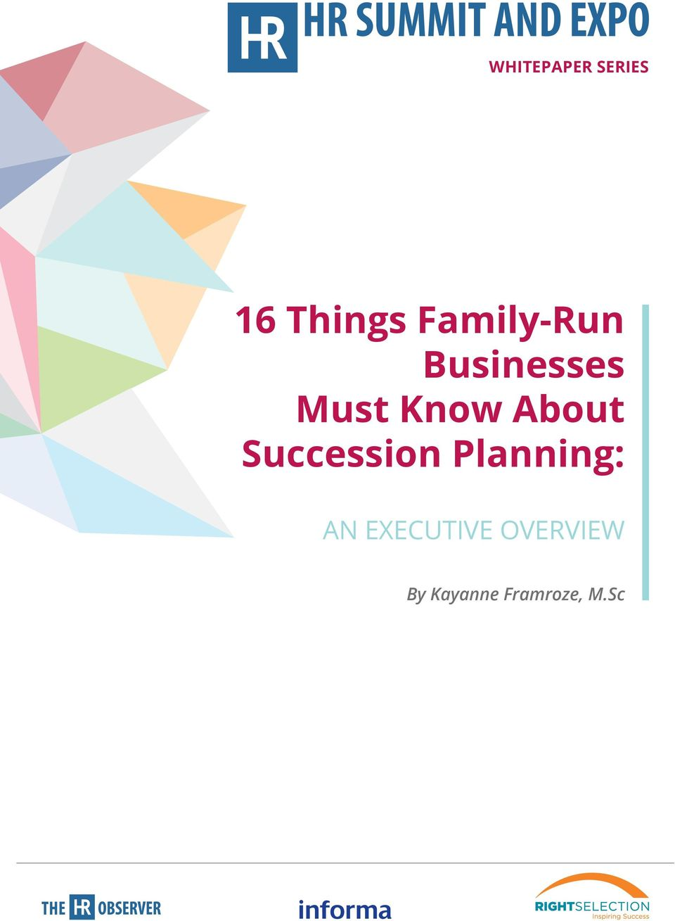About Succession Planning: AN
