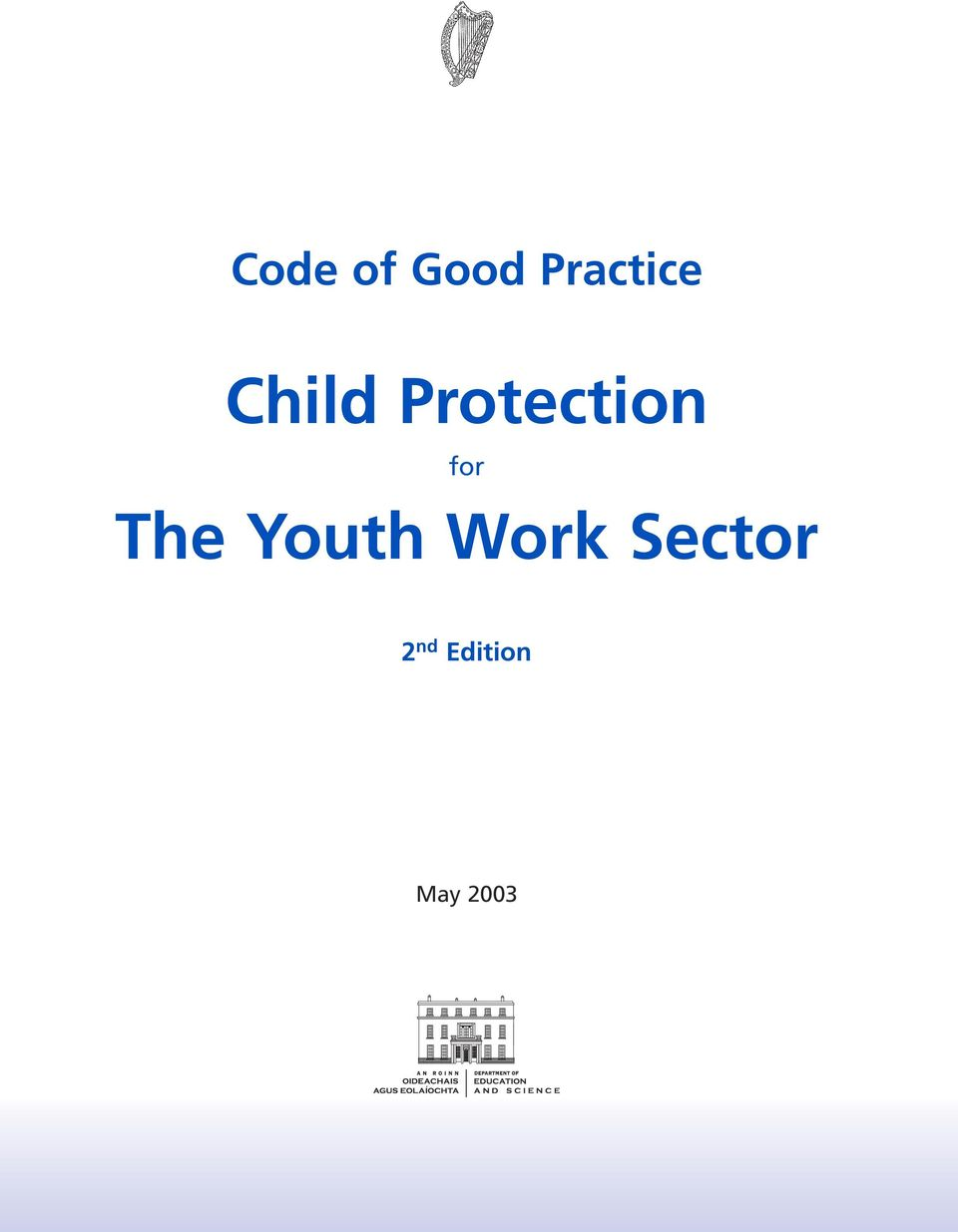 The Youth Work Sector