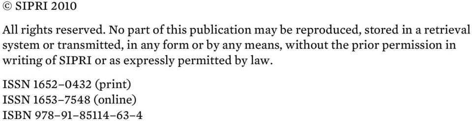 or transmitted, in any form or by any means, without the prior permission in