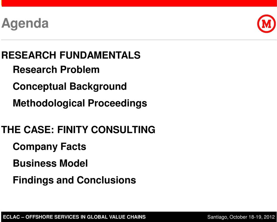 Business Model Findings and Conclusions ECLAC 2011 SAP AG.