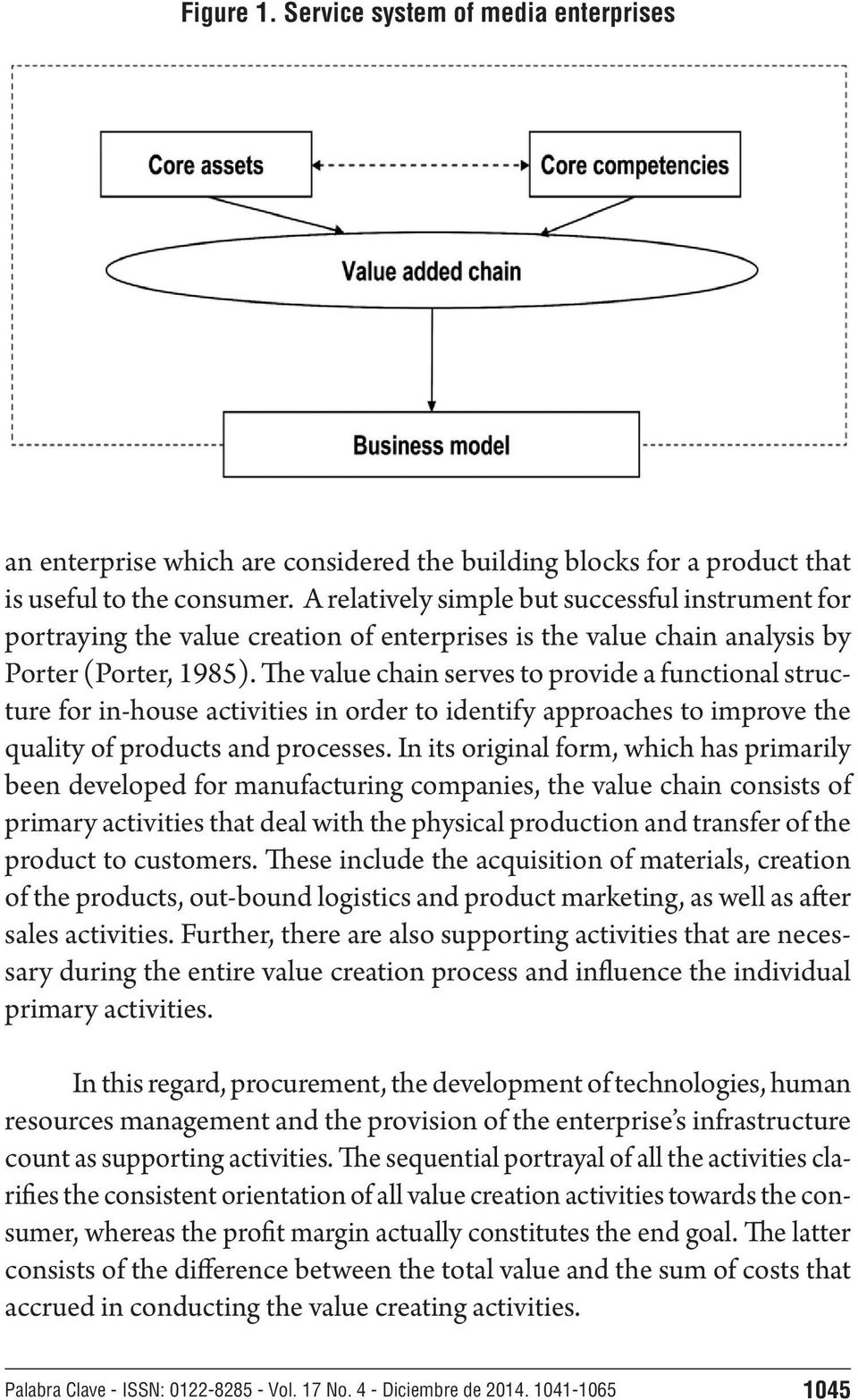 The value chain serves to provide a functional structure for in-house activities in order to identify approaches to improve the quality of products and processes.