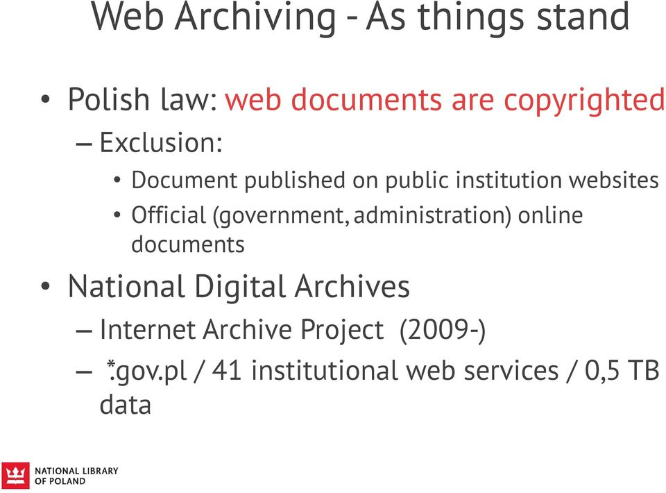 (government, administration) online documents National Digital Archives