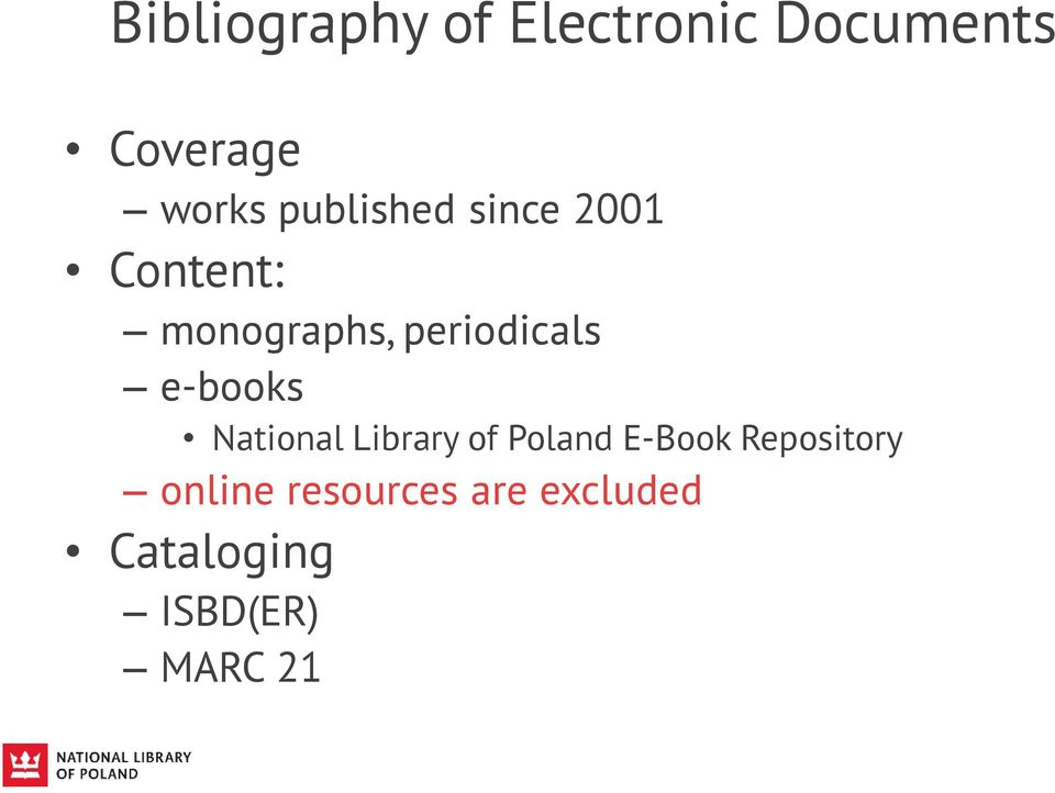 e-books National Library of Poland E-Book Repository