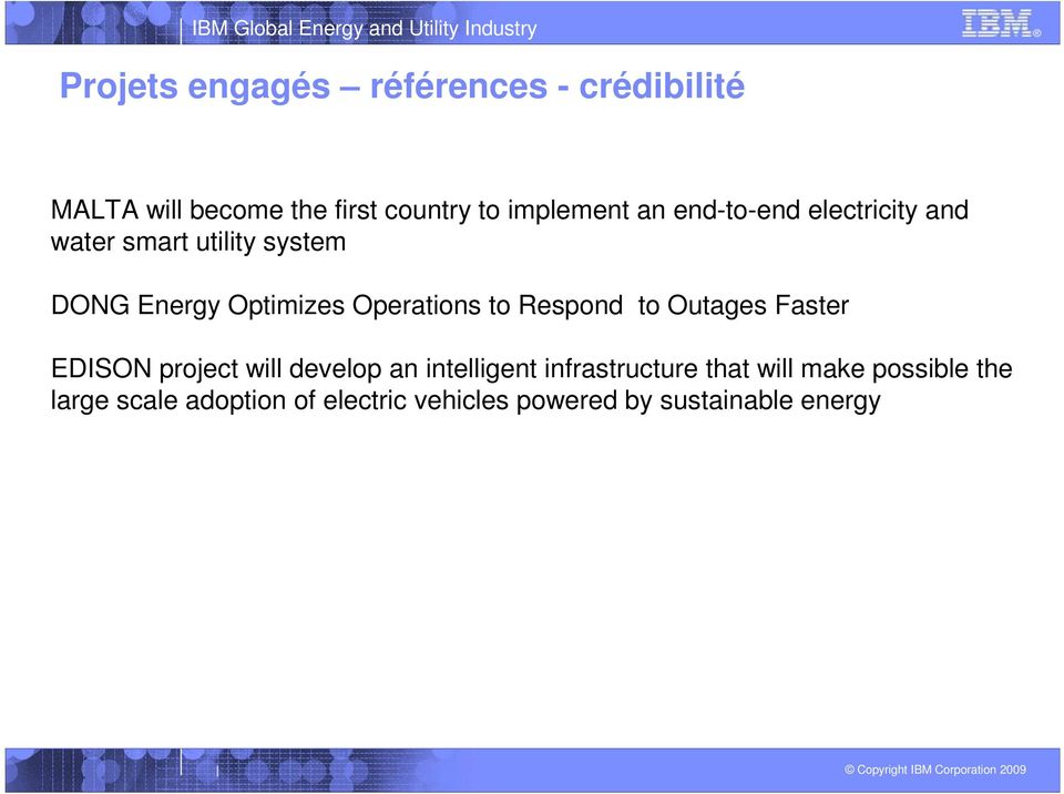 to Respond to Outages Faster EDISON project will develop an intelligent infrastructure that