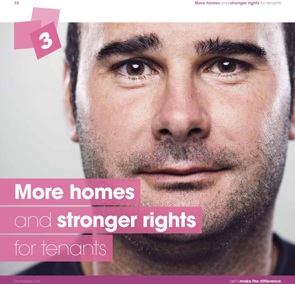 homes and stronger rights