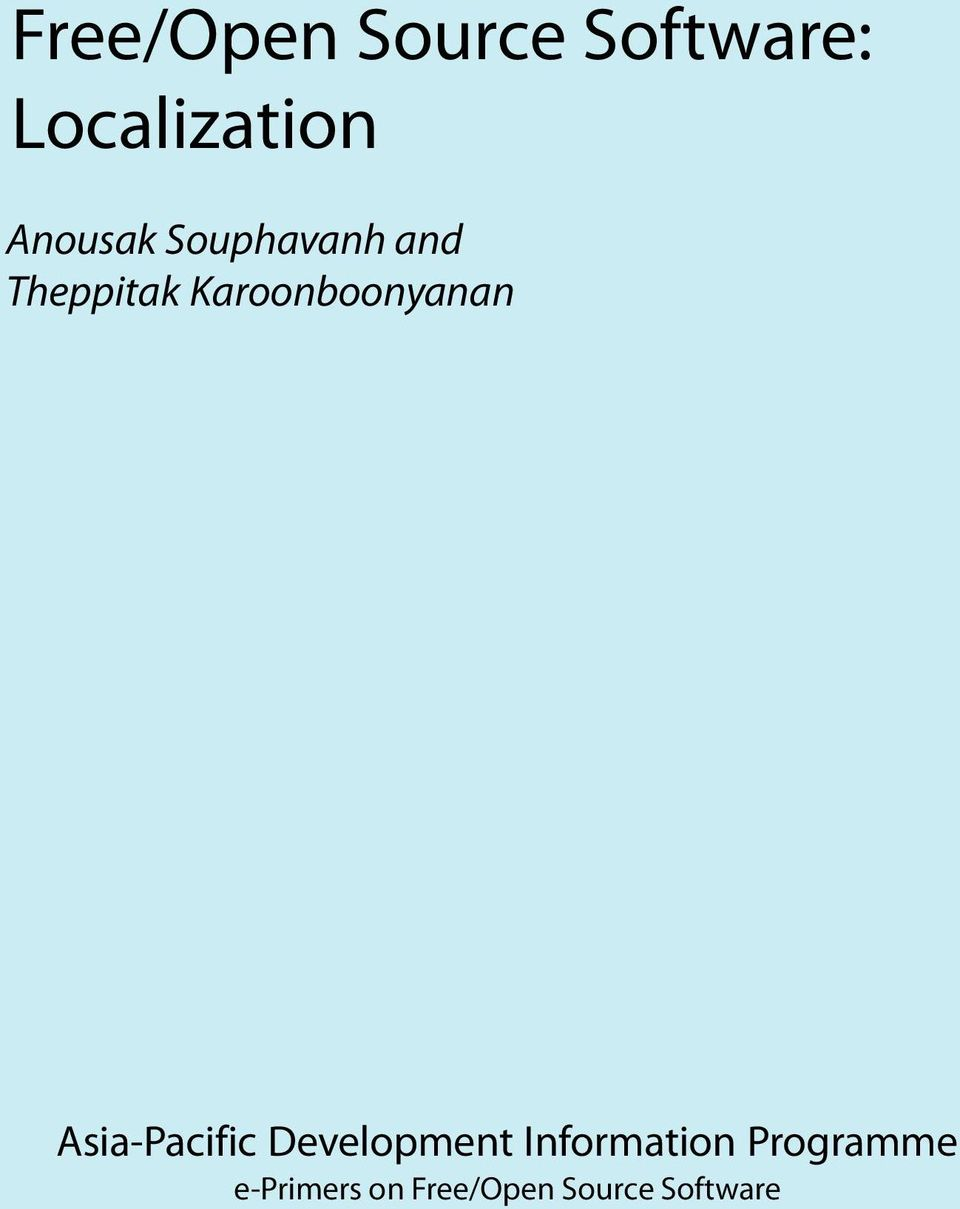 Karoonboonyanan Asia-Pacific Development