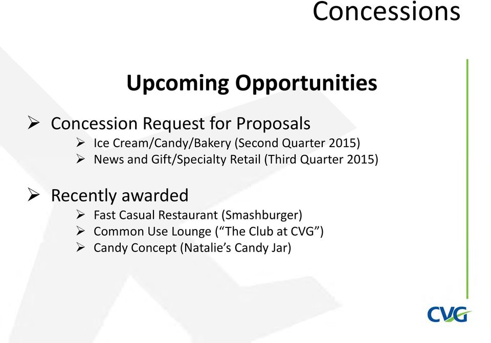 (Third Quarter 2015) Recently awarded Fast Casual Restaurant