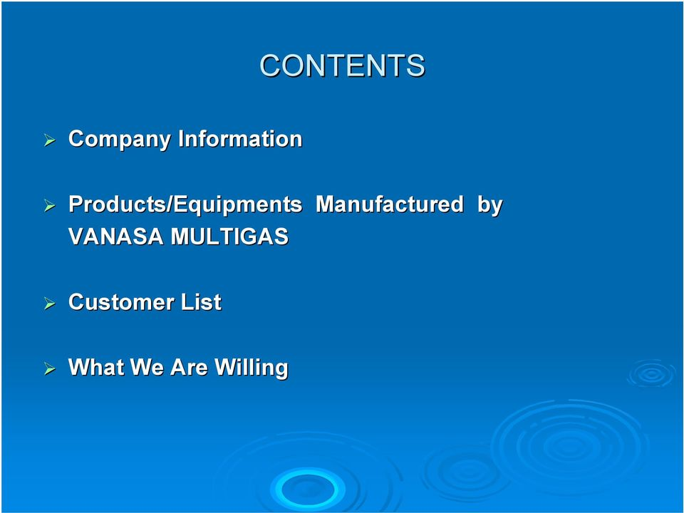 Manufactured by VANASA