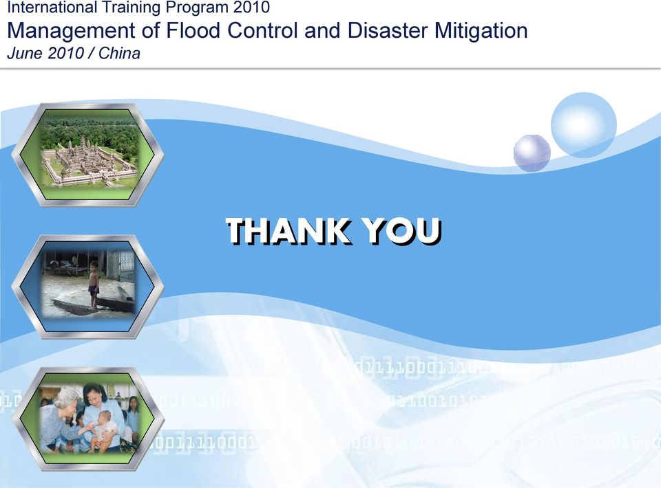 Flood Control and Disaster