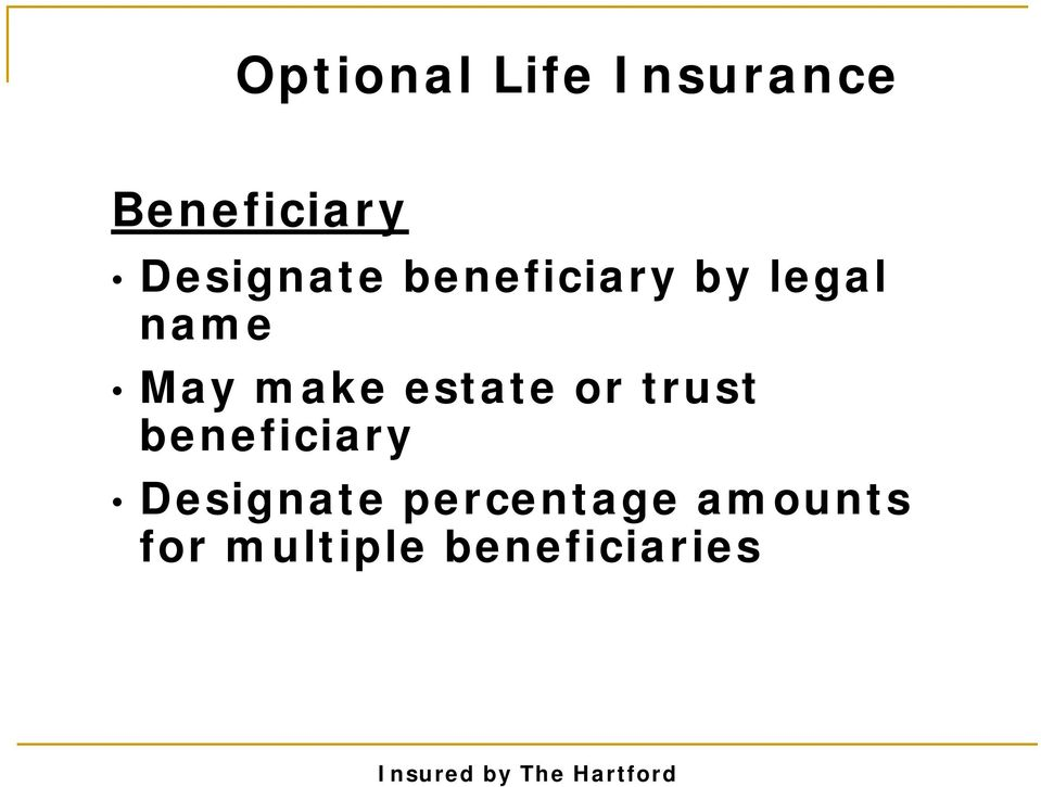 make estate or trust beneficiary