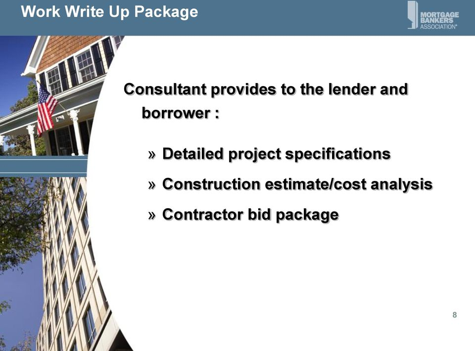 project specifications» Construction