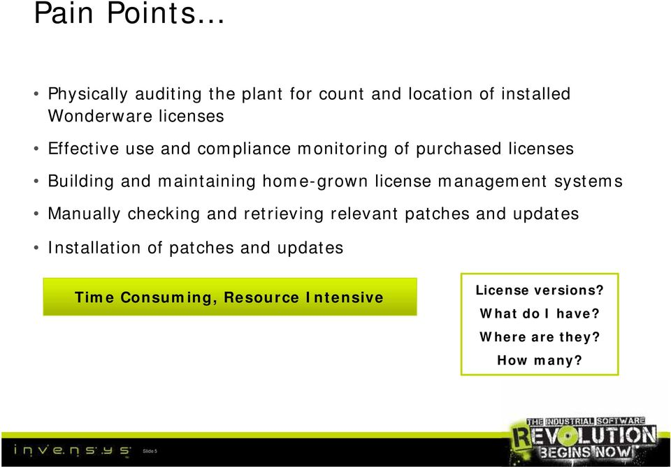 management systems Manually checking and retrieving relevant patches and updates Installation of patches