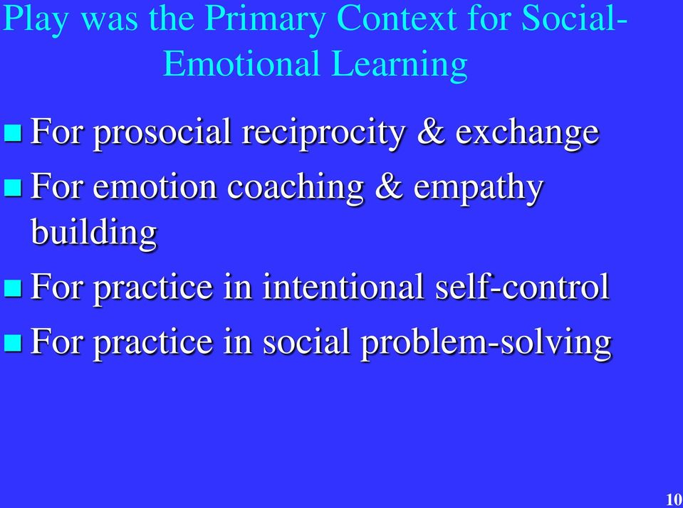 emotion coaching & empathy building For practice in