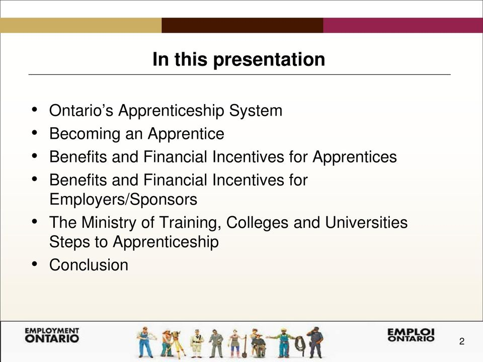 Benefits and Financial Incentives for Employers/Sponsors The