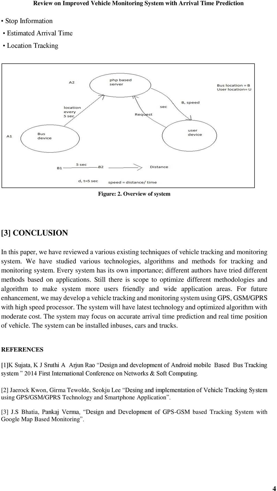 Review On Improved Vehicle Monitoring System With Arrival Time Predicition Pdf Free Download