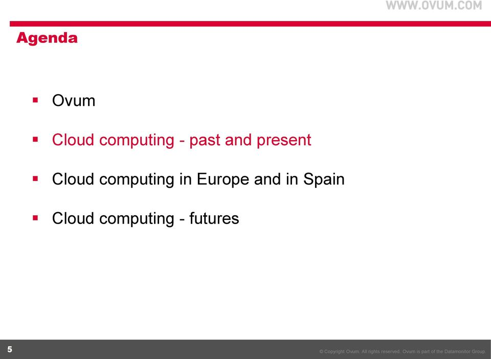 computing in Europe and in