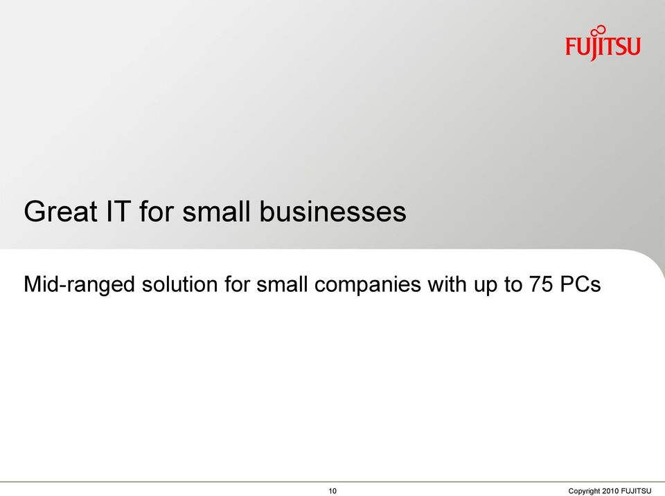 solution for small companies