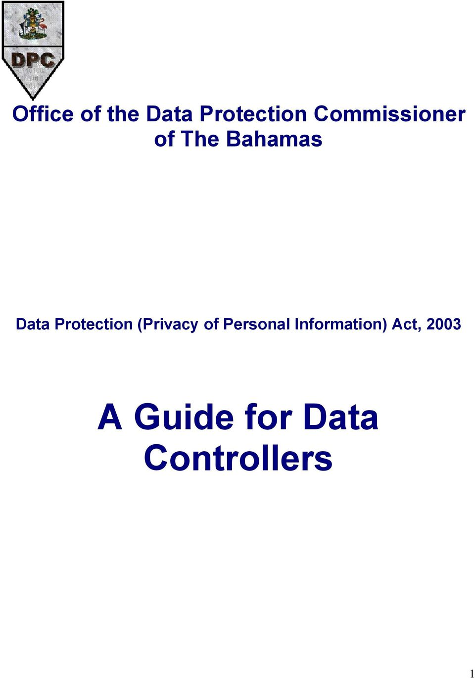 Protection (Privacy of Personal