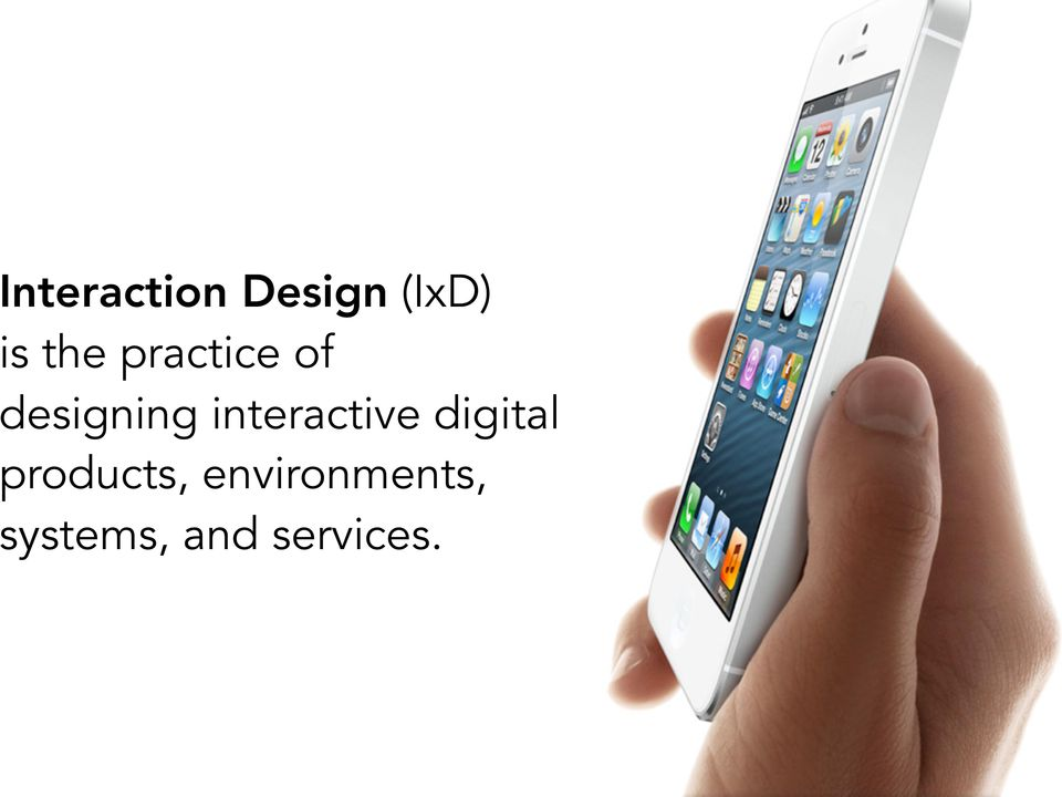 interactive digital products,