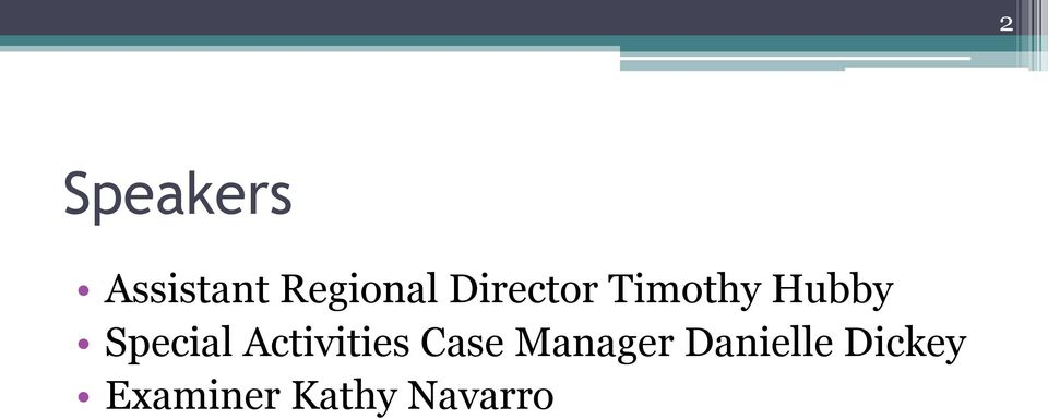 Activities Case Manager