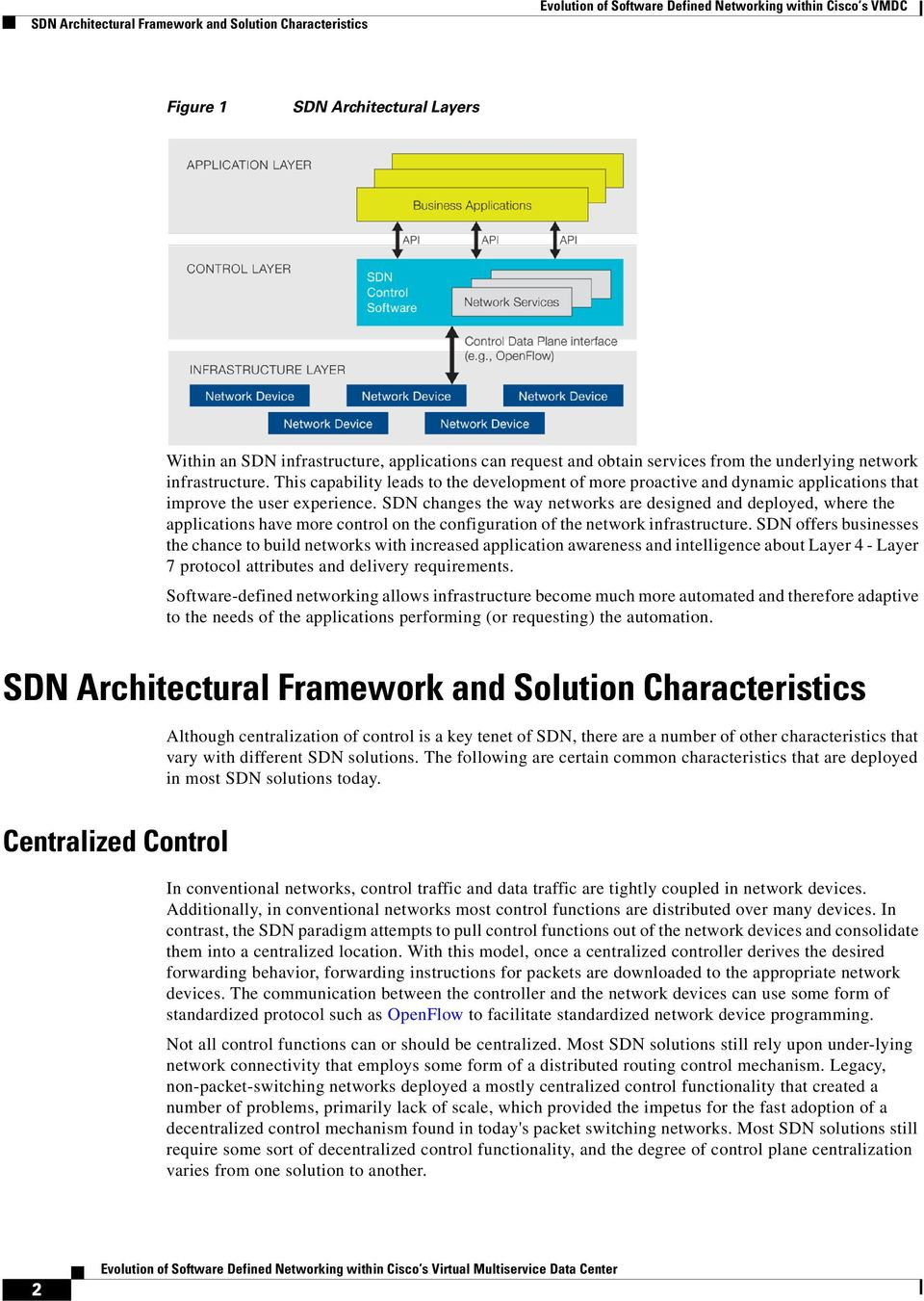 SDN changes the way networks are designed and deployed, where the applications have more control on the configuration of the network infrastructure.