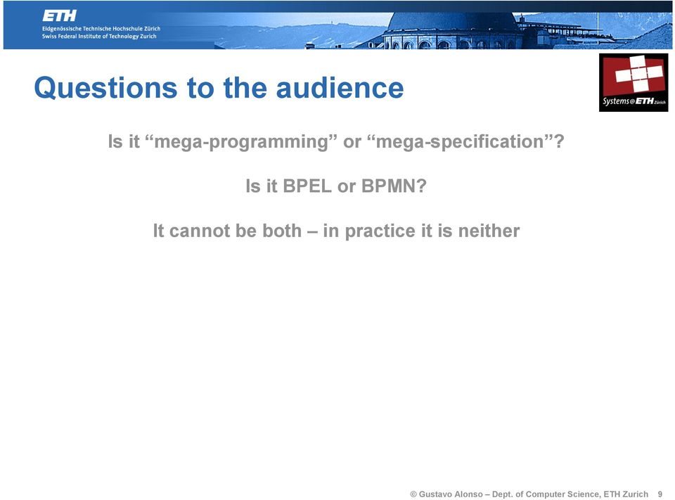 Is it BPEL or BPMN?