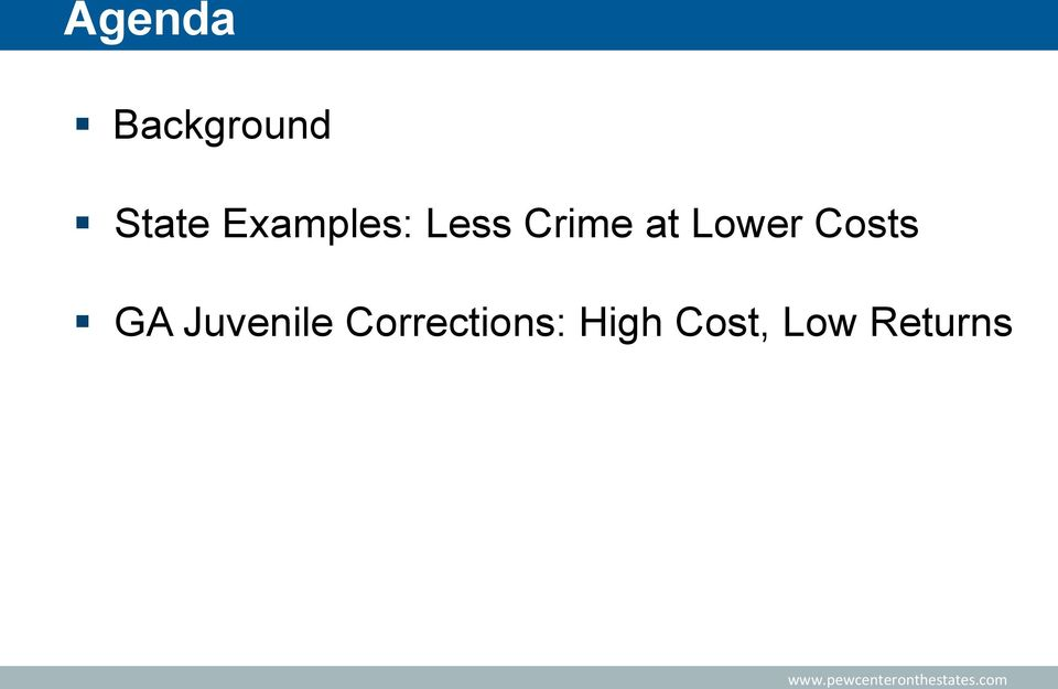 Lower Costs GA Juvenile