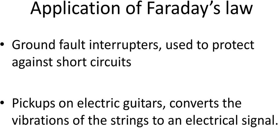 circuits Pickups on electric guitars, converts