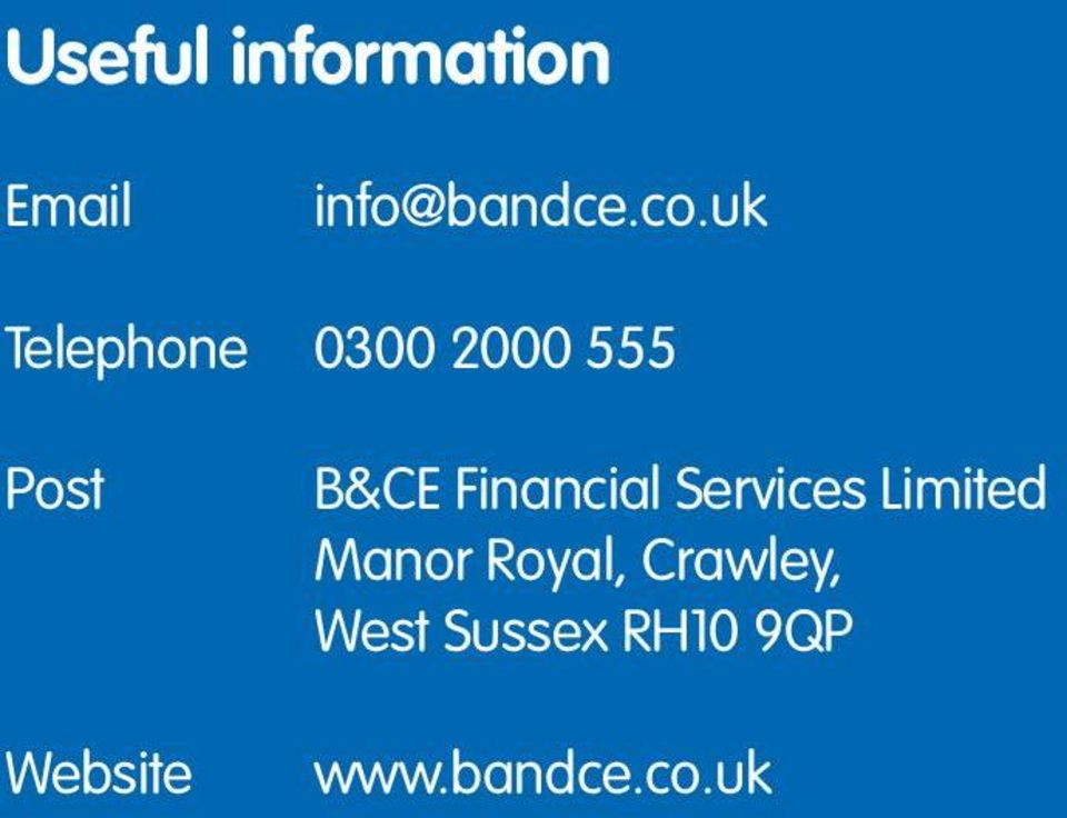 Services Limited Manor Royal, Crawley, West Sussex RH10 9QP