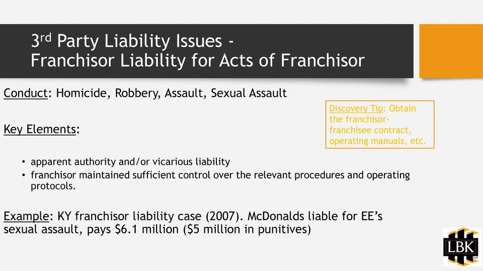 Liability Insurance Vicarious Liability Insurance