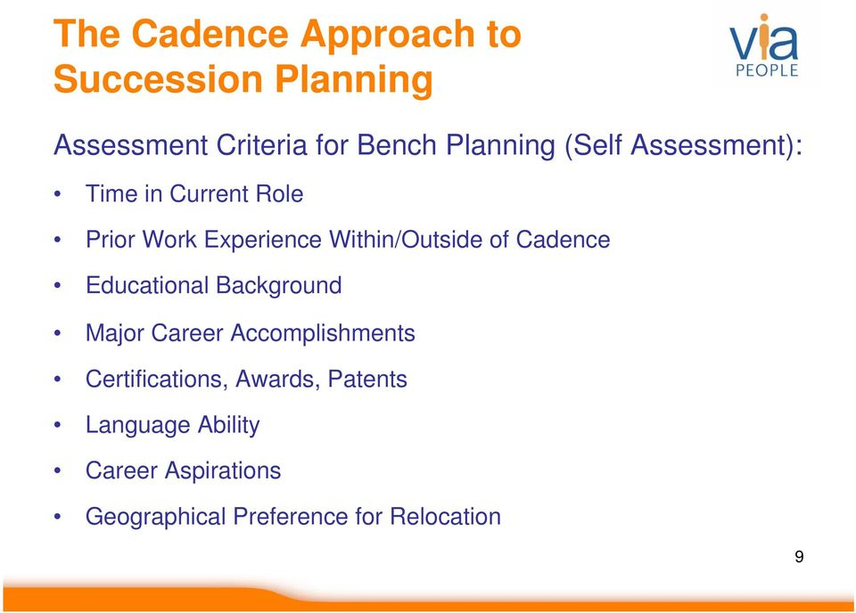 Cadence Educational Background Major Career Accomplishments Certifications,