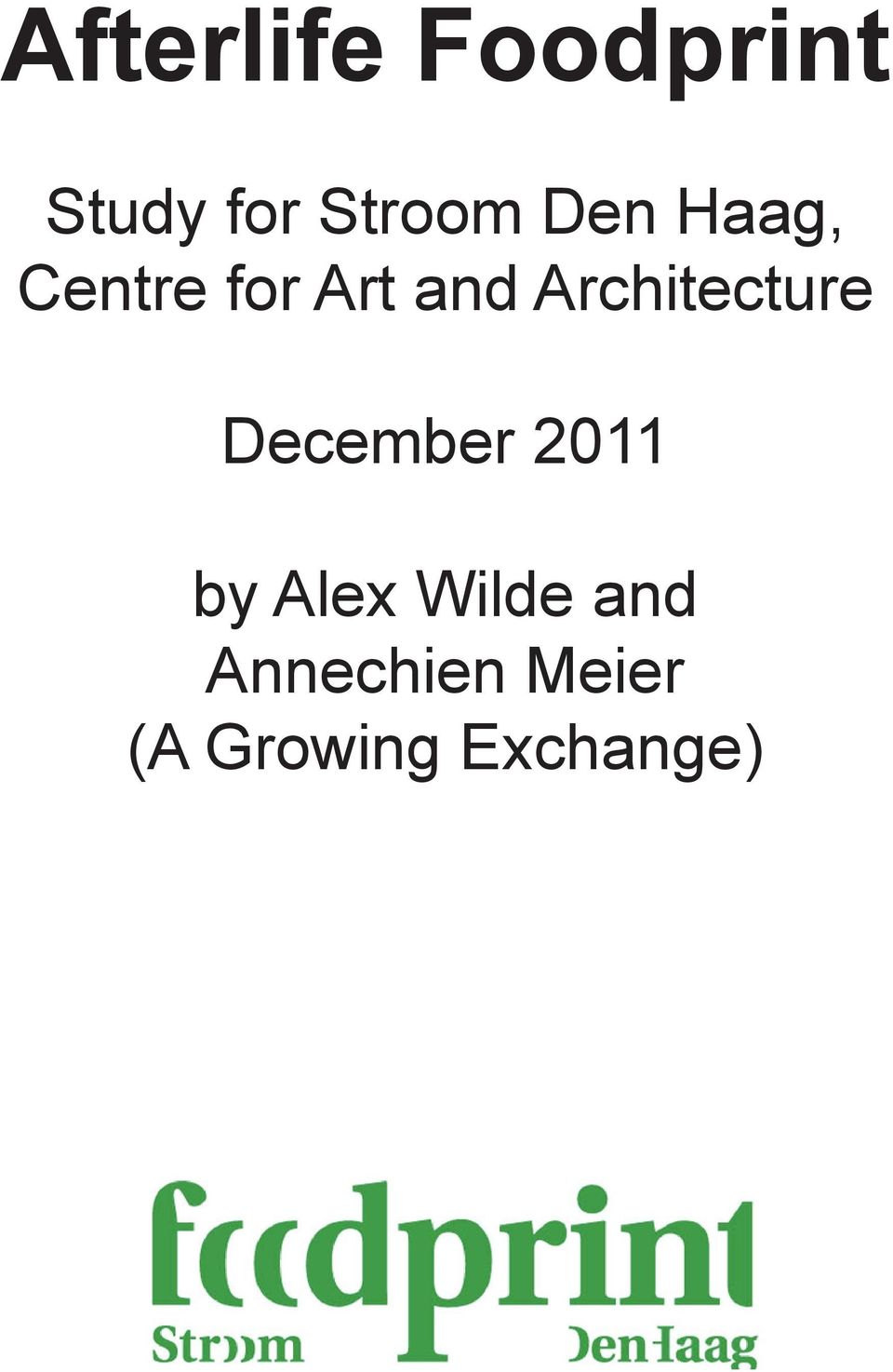 Architecture December 2011 by Alex