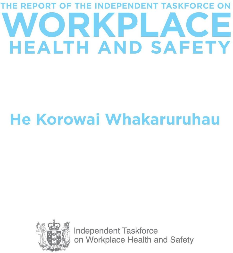 ON WORKPLACE HEALTH AND